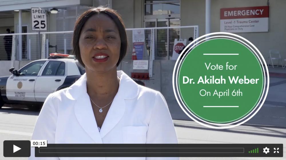 Video of Dr. Akilah Weber