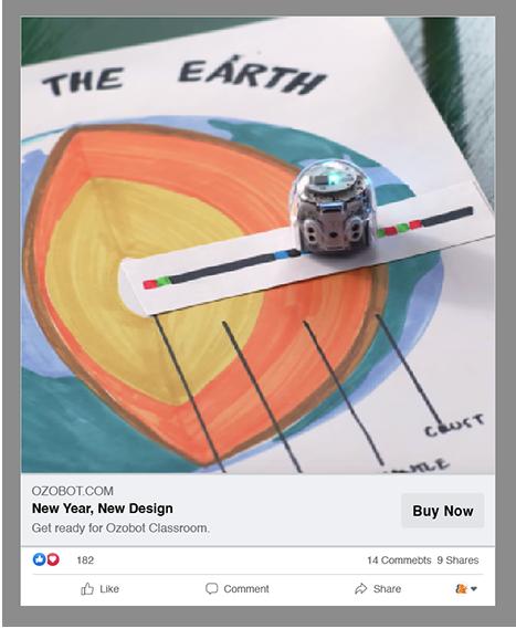 Ozobot Digital Advertising