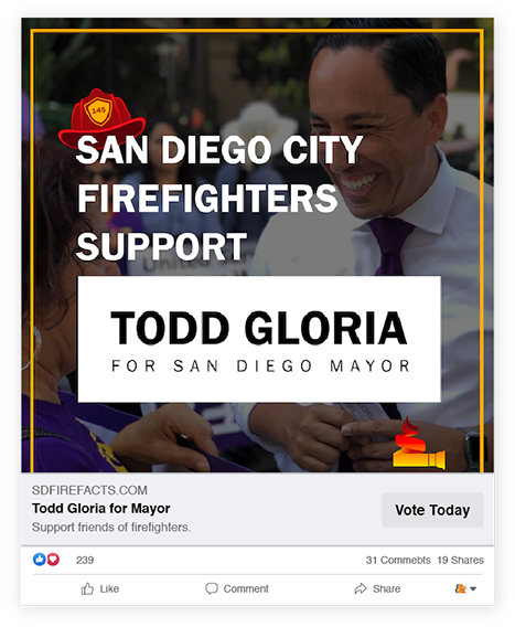 San Diego Fire Facts Digital Advertising