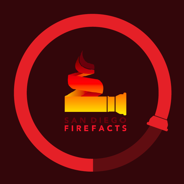 San Diego Fire Facts branding