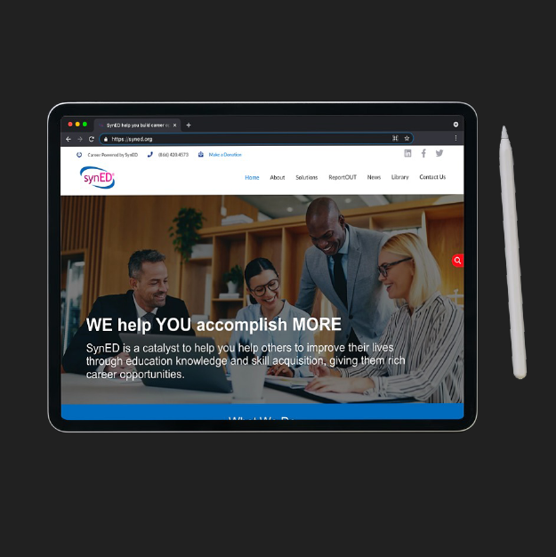 website development for SynED