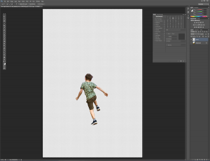 View Your Subject in a New Layer in Photoshop