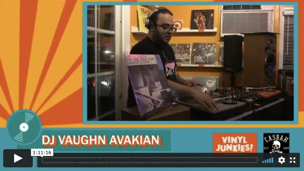 Vinyl Junkies livestream