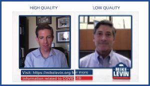Representative Mike Levin livestream with high video quality