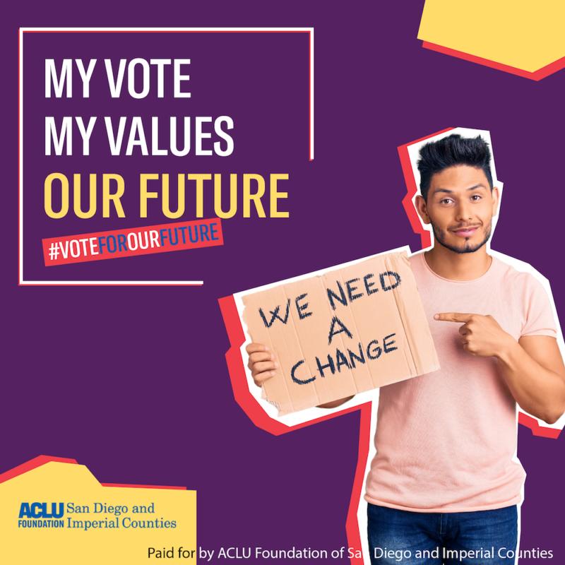 digital advertising for ACLU