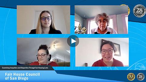 San Diego Fair Housing Council livestream