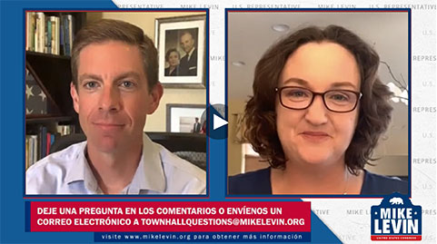 Mike Levin livestream