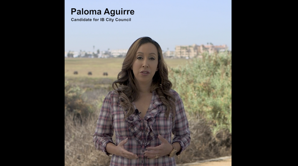 Video of Paloma Aguirre for Imperial Beach City Council