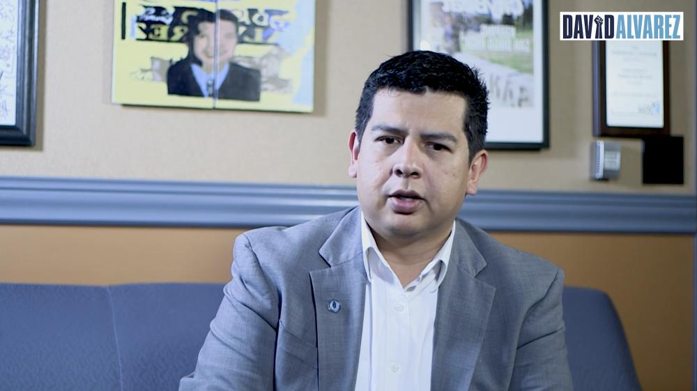 Video of David Alvarez