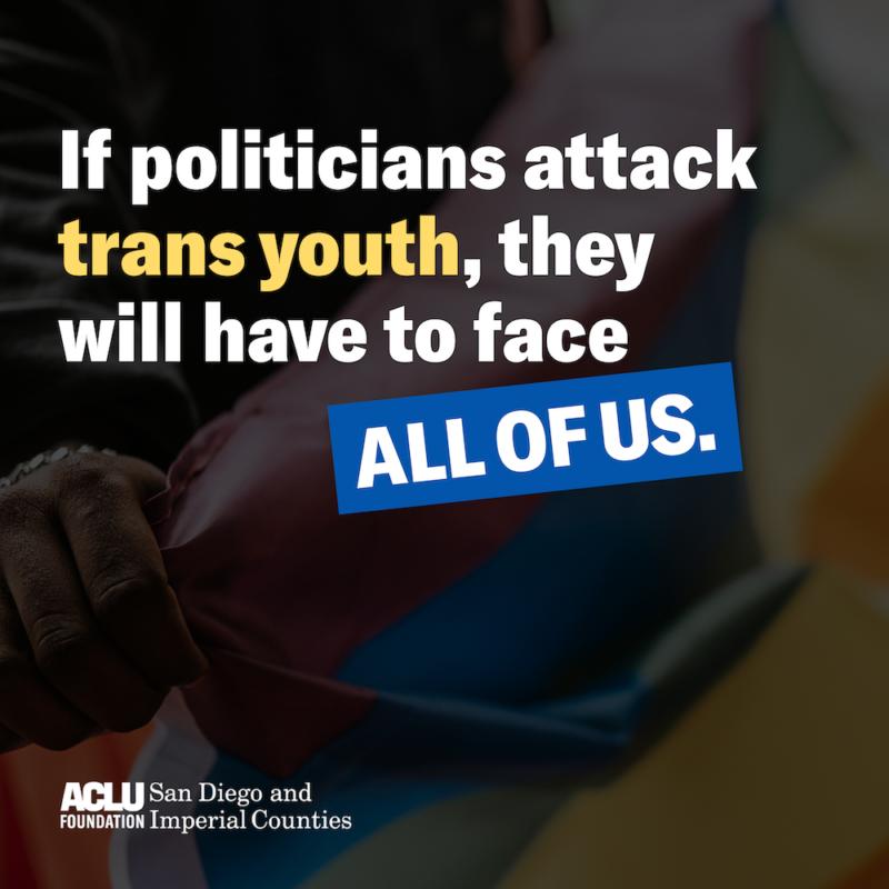 social media post for ACLU