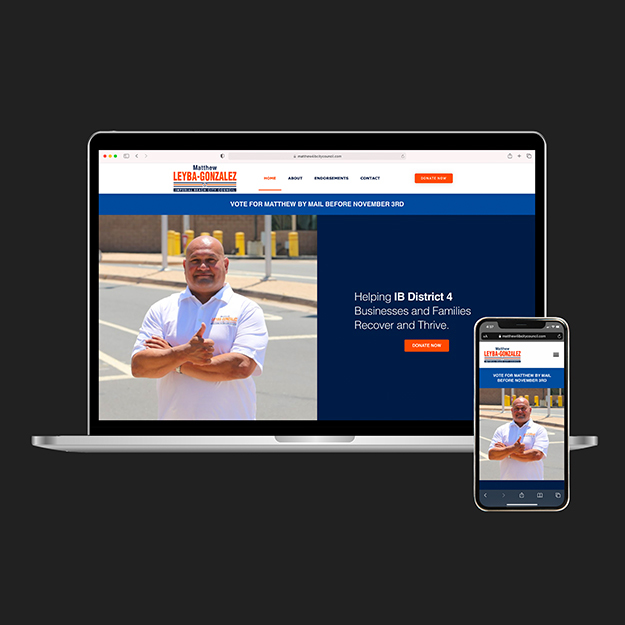 Matthew Leyba-Gonzales website development case study