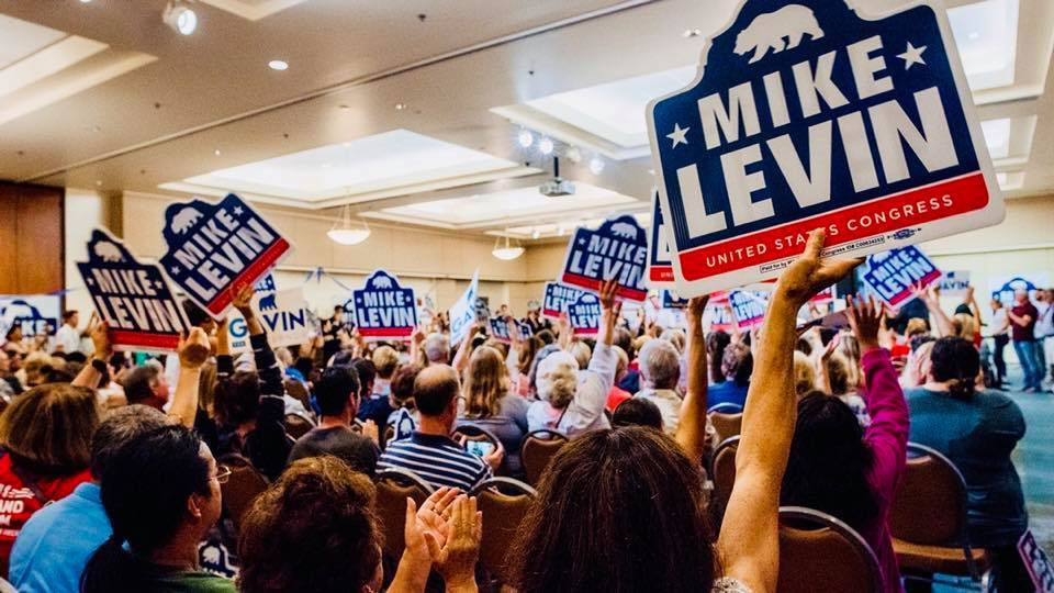 Representative Mike Levin town hall
