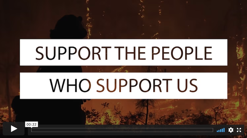 San Diego Fire Facts supports Marni von Wilpert digital advertising